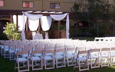 Doubletree by Hilton Hotel Sonoma Wine Country, Courtyard, evening wedding