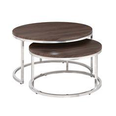 Wildon Home ® 2 Piece Nesting Table Set & Reviews | Wayfair