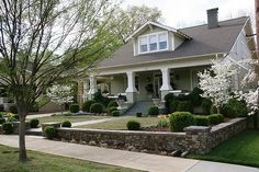 Craftsman Home. Fixed up, old houses have style and personality. My favorite style home.