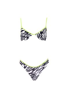 Bāmba Original- Zebra // BELLA BRA x ELLE BOTTOMS Bamba Swim, Elle Macpherson, Natural Forms, Bra Styles, Classic Beauty, Limited Edition Prints, Long Legs, Illusions, Fitness Models