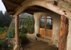Free form cob cottage and timber home built for £3000. By Simon Dale, beingsomewhere.net