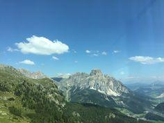View to Sassongher from Piz Boe', Corvara Bolzano Italy