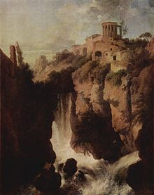 The Athenaeum - Waterfalls in Tivoli (Christian Wilhelm Ernst Dietrich - ) Day Trips From Rome, Modern Photographers, Georges Seurat, Roman Architecture, Roman Art, 1st Century, Ancient History, Temple, Christian