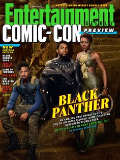 For this week's cover, welcome to Wakanda — an Afro-futurist paradise whose king is one of the most groundbreaking heroes in the Marvel Cinematic Universe ( Kwaku Alston/©Marvel Studios 2018 )