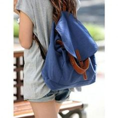 $6.74 New Arrival Casual and Laconic Covered Sacking Backpack For Female