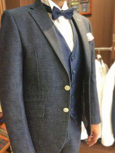 人気のデニムオーダータキシード|結婚式の新郎タキシード/新郎衣装はメンズブライダルへ