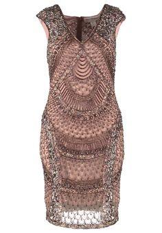 Miss Selfridge FAN - Sukienka letnia - metallic - Zalando.pl