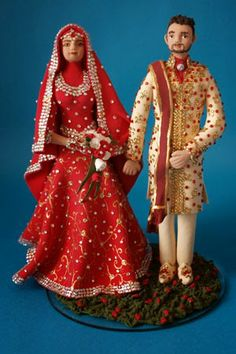 Asian Wedding Cake Toppers