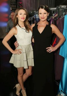 Chloe (Elizabeth Hendrickson) and Chelsea (Melissa Claire Egan). The Young & The Restless