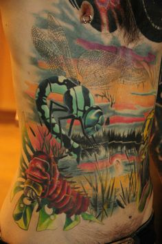 awesome tattoos by Tim Orth