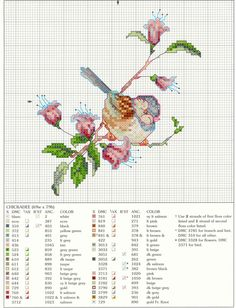 .Bird on pink flower stem (bbj2167) 1/1                                                                                                                                                      More