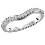 The a universally accepted standard to diamond grading. Curved Wedding Band, Wedding Bands, Diamond Bands, Unique Rings, Diamond Engagement Rings, Color, Jewelry, Colour, Jewellery Making