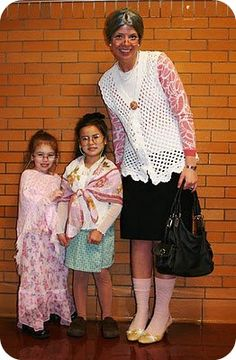 dress like your 100- Oh my gosh!! I wish we would have seen this earlier!  Next year!