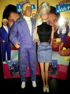Barbie Estrela E Ken Casal Visual Jeans - R$ 149,99 no MercadoLivre