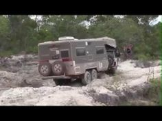Offroading Australia - With trailers and camper vans!