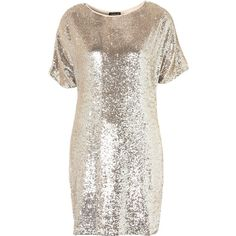 Premium Sequin T-Shirt Dress and other apparel, accessories and trends. Browse and shop related looks.