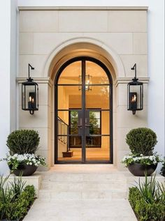 Manicured entry