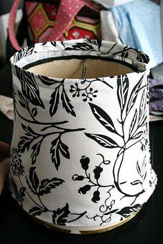 DIY Lampshade Slipcover