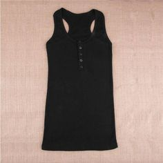 Women's cotton knitted T-Shirt tank top