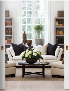 48 Beautiful Black And White Interior Design Living Room Décor Ideas nevaeh n Design Living Room, Home Living Room, Living Room Decor, Living Spaces, Living Area, Home Design, Interior Design, Interior Doors, Interior Paint