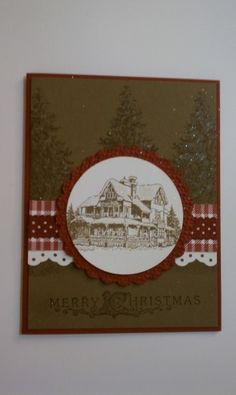 Christmas Lodge by bethany