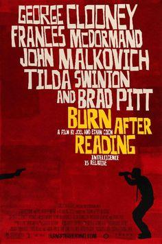 Burn After Reading (2008) Original One Sheet Movie Poster