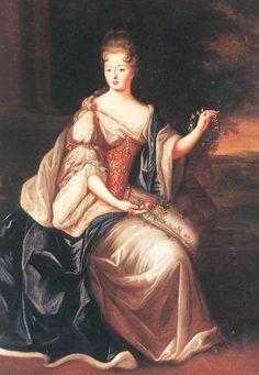 Louise Benedicte de Bourbon Duchesse du Maine,1690 Gobert