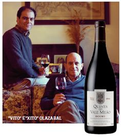 Wine producer: Quinta do Vale Meão. Quinta do Vale Meão is seen today as one… Getting Drunk, Wine And Spirits, Wineries, Teas, Vineyard, Beverages, People, Food, Wine Pairings