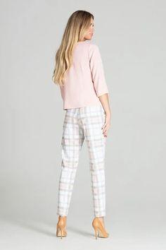 Shirt model 141753 Figl – Blushgreece.shop Pantalon Cigarette, Farmer, Blouses For Women, Karl Lagerfeld, White Jeans, Tommy Hilfiger, Capri Pants, Pajama Pants, Sweatpants