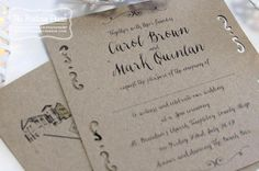 10 Wedding Invitations to Suit Every Style of Couple | weddingsonline