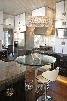 Pretty idea (via Steven Favreau - Contemporary - Kitchen - san francisco - by Favreau Design)