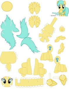 DeviantArt: More Artists Like Pegasus pony guard 2 of 2 by Kna My Little Pony Craft, My Little Pony Drawing, Paper Toys, Paper Crafts, Diy Crafts, Crafts For Girls, Arts And Crafts, Printable Box, Little Poney