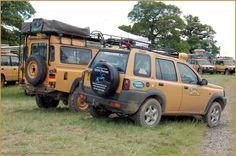 Camel Trophy Land Rover Freelander