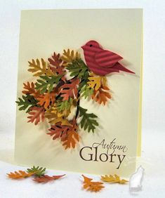 Fall Leaves by kittie747 - Cards and Paper Crafts at Splitcoaststampers