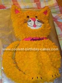 Cat Cake I did Cakes and cupcakes Pinterest Cake Cat and