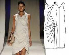 Resultado de imagem para moldes de vestidos