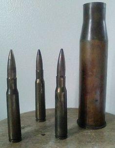 Vtg WW2 37mm Shell Casing MK 16 1940 1942 Trench Art Brass   eBay
