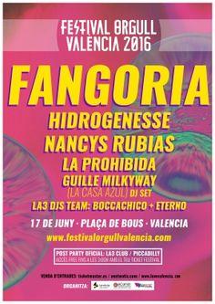 Concierto en la plaza de toros por el Orgull València 2016 - http://www.absolutvalencia.com/megaconcierto-para-celebrar-el-orgull-valencia-2016/