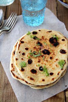 no-yeast naan {quick dinner idea}