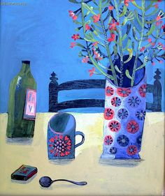 Indoor Gardening Quick, Clean Up, And Pesticide Free - Make Your Own Este Macleod Painting Still Life, Still Life Art, Still Life Flowers, Plant Art, Artist Art, Flower Art, Find Art, Street Art, Abstract