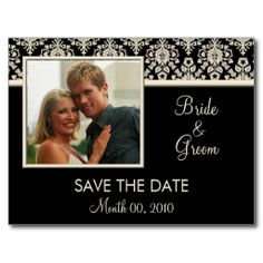 Cute Stick Figures Save the Date Postcards | Stick figures, Sticks ...