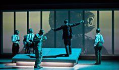 Chapitres de la chute, Saga des Lehman Brothers, Stefano Massini/Arnaud Meunier, Comédie de St Etienne, octobre 2013.