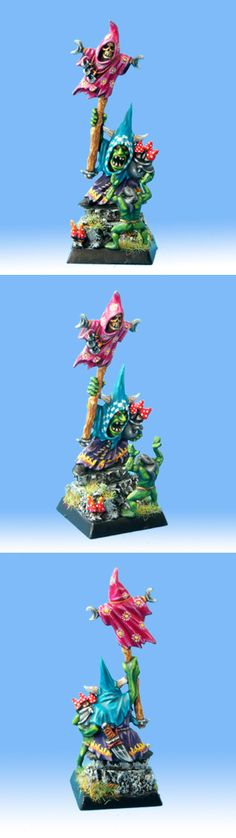 Very colourful Night Goblin Shaman