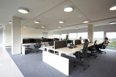 Desking systems | Desk systems | CHTH | Lensvelt | Richard Meier. Check it out on Architonic