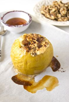 cottage cheese baked apple