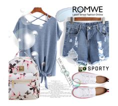 """""""ROMWE 5/XII"""" by saaraa-21 ❤ liked on Polyvore featuring vintage, romwe, shop and polyvorefashion"""