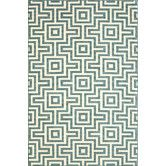 "Found it at Wayfair - Baja Blue Indoor/Outdoor Area Rug V 6'7""x9'6"" / $587"