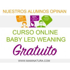 """Curso online """"Baby Led Weaning"""""""