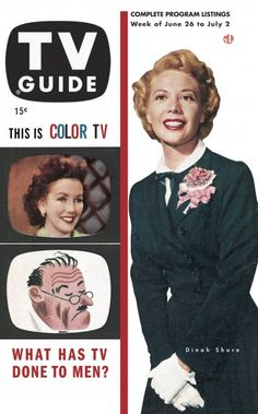 TV Guide, June 26, 1953 - Dinah Shore