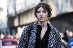 Milan Fashionweek day 5, FW 2015, Grace Hatzel, street style, beauty